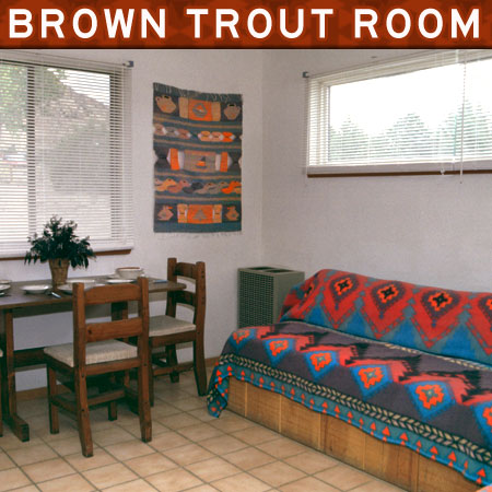 Enchanted Hideaway Brown Trout Room